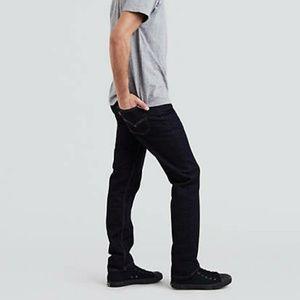 NWT Men's Levis 511 Slim Fit Black Jeans